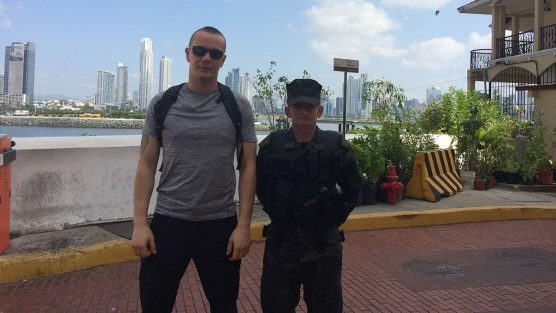 Bartosz on Close Protection in Panama