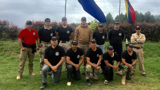 Bartosz Running Close Protection Course in Colombia